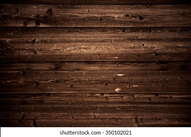 A timber wood brown wall plank vintage background.