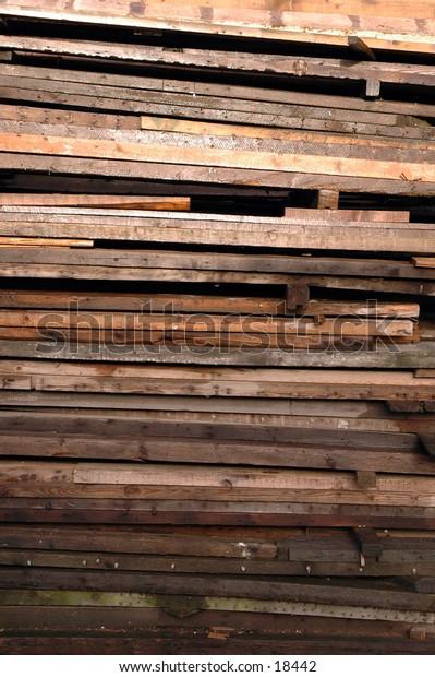 Timber at a yard