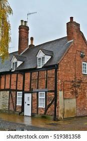 Timbered Brick House