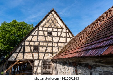 timbered house in Waiblingen, Baden Württemberg, Germany