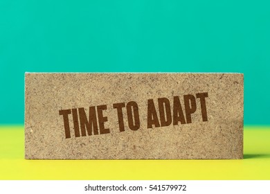 Time To Adapt, Business Concept