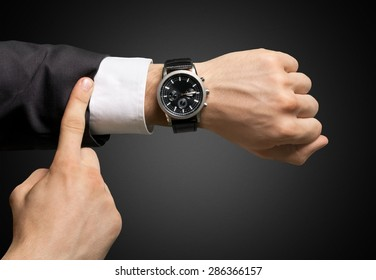 Time, Checking the Time, Urgency.