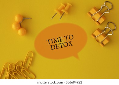 Time To Detox, Health Concept