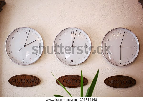 time in different time zones