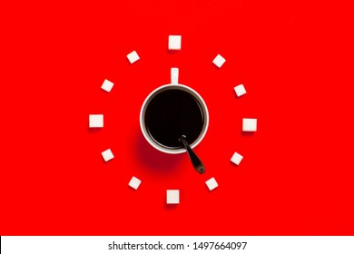 time to drink coffee, five o'clock