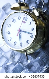 Time, ice and clock