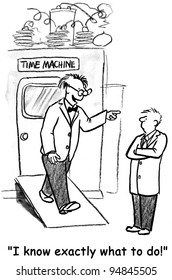 "Time Machine - ""I know exactly what to do."""