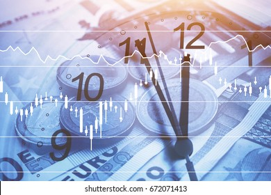 time is money concept, business and finance, inflation