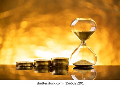 The time is money image