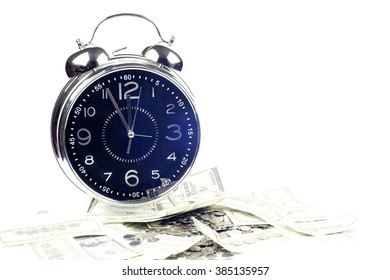 time is money and wealth. concept of time and money
