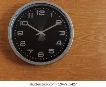 time passes on the clock, at each moment.
