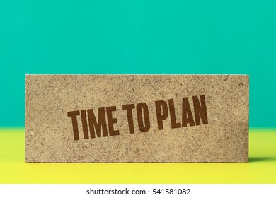 Time To Plan, Business Concept