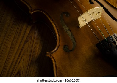 """""""time to practice violin"""" violin in vintage style on wood background"""