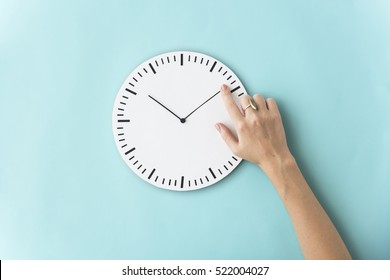 Time Punctual Second Minute Hour Concept - Shutterstock ID 522004027
