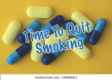 Time To Quit Smoking, Health Concept