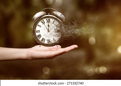 Time is running up - Shutterstock ID 271332740
