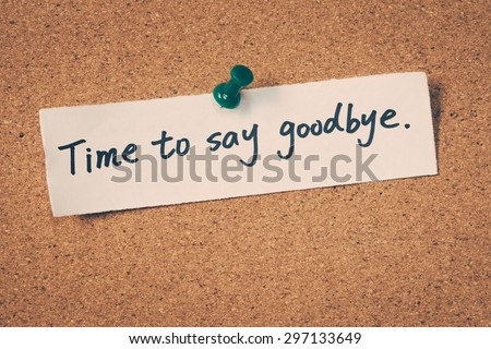 Time Say Goodbye」の写真素材(...