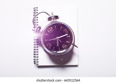 Time to School on retro alarm clock