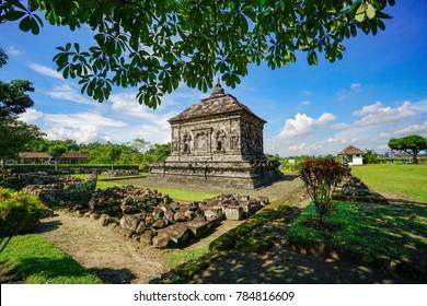 Time stands still, Banyunibo Temple, Yogyakarta, Indonesia