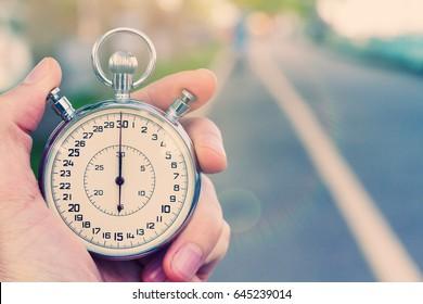 Commencez par l'ancien chronomètre