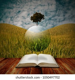 Time to study with agriculture concept