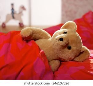 Time for Teddy to sleep