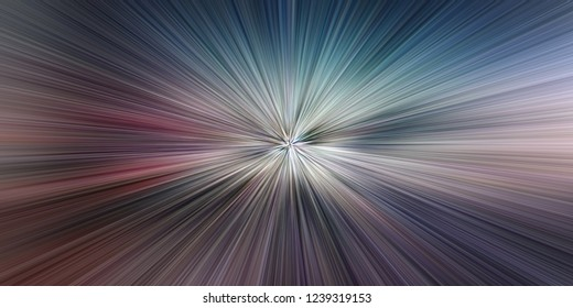 Time warp, light speed, time travel concept background