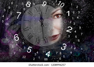 Time, woman and numerology