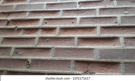 time-honed old brick wall