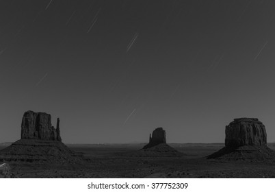Timelapse at Monument valley USA