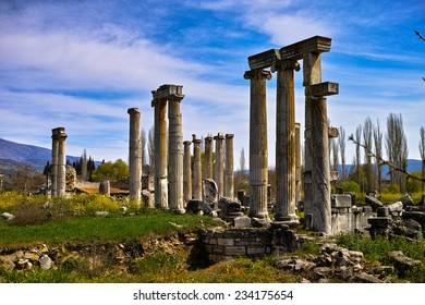 Timeless columns at Aphrodisias