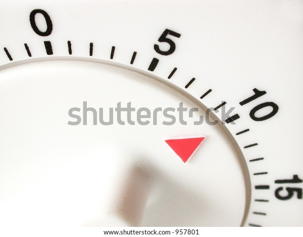 timer set with 10 minutes to go