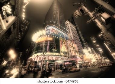 Times square - manhattan - new york