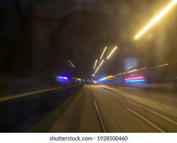 Time-traveling by lightspeed train during night hours