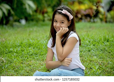 Timid Beautiful Minority Female Tween
