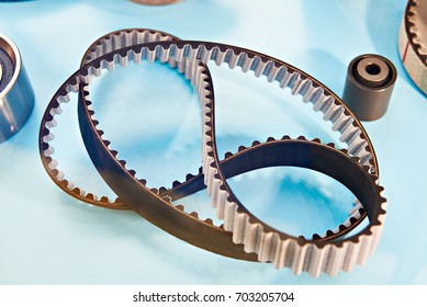 Timing belt for the car's motor in the store on the counterм