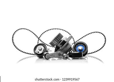 timing belt on a white background