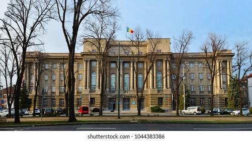 Timisoara city Romania prefecture landmark architecture panorama