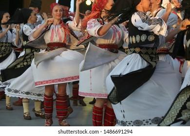 Traditional Romanian Dance Images, Stock Photos & Vectors