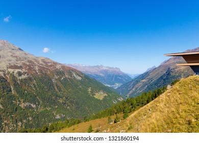 Timmelsjoch Pass in Austria in Summer