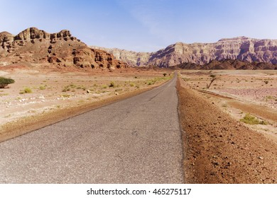 Timna National Park in the desert in southern Israel
