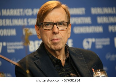 Timothy Spall attends the 'The Party' press conference during the 67th Berlinale International Film Festival Berlin at Grand Hyatt Hotel on February 13, 2017 in Berlin, Germany