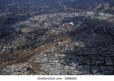 """Tin City"" slum - Nairobi, Kenya"