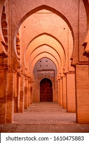 The Tin Mal Mosque is a mosque located in the High Atlas mountains of North Africa. It was built in 1156.