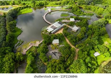 Tin Shui Wai, Hong Kong 02 September 2018:- Hong Kong wetland park