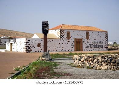 TINDAYA, SPAIN - CIRCA FEBRUARY 2019 Casa Alta Tindaya