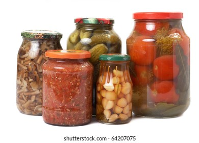 tinned vegetables