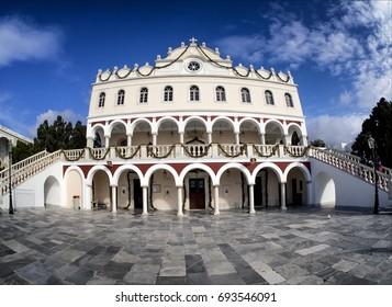 Tinos island, Virgin Mary church/Virgin Mary church