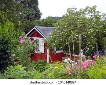 Tiny garden house in Sweden