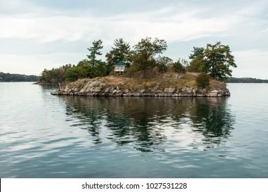 tiny house in a tiny island
